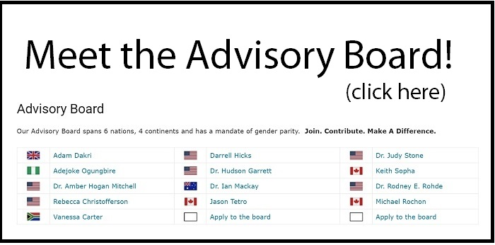 Click here to view our Advisory Board