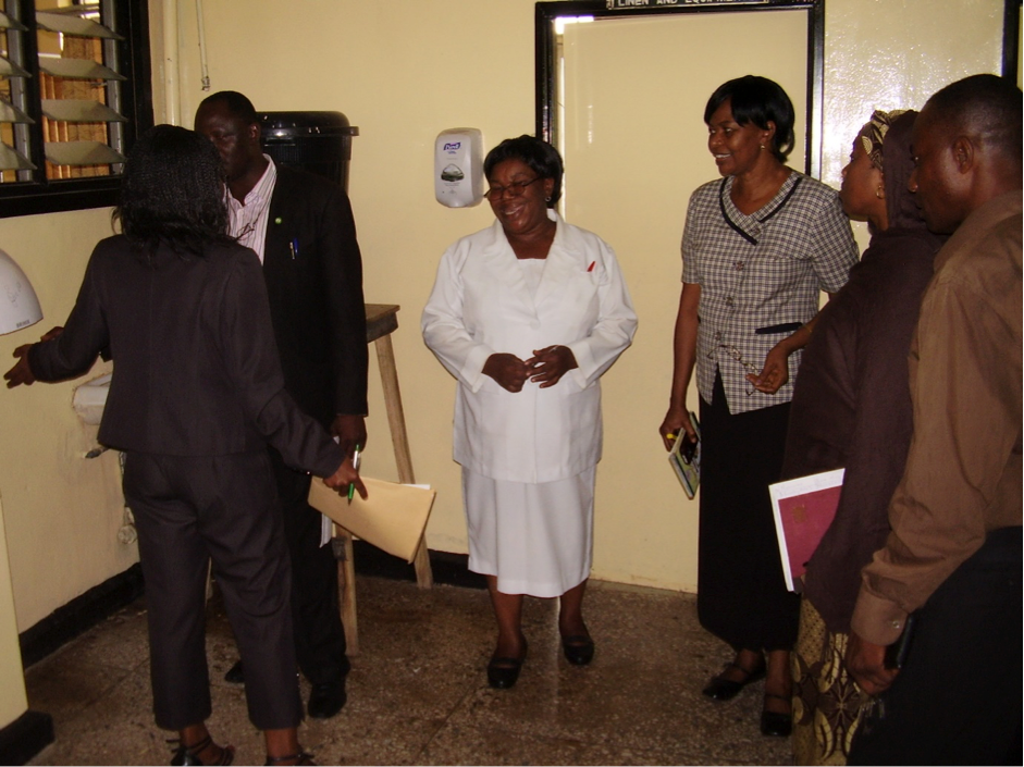 Figure 1 Assessing hand Hygiene requirements at a tertiary center in Nigeria