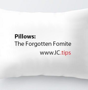 Pillows: The Forgotten Fomite