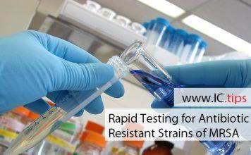 Rapid Testing for Antibiotic Resistant Strains of MRSA
