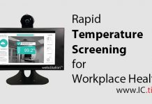Rapid Temperature Screening for Workplace Health
