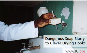 Dangerous Soap Slurry to Clever Drying Hooks