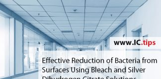 Effective Reduction of Bacteria from Surfaces