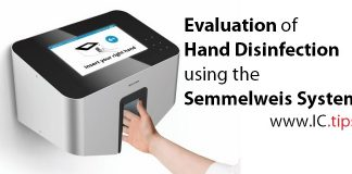Evaluation of Hand Disinfection using the Semmelweis System