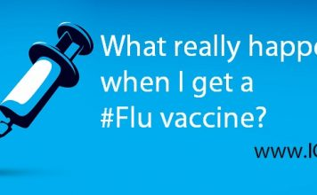 What really happens when I get a #Flu vaccine?