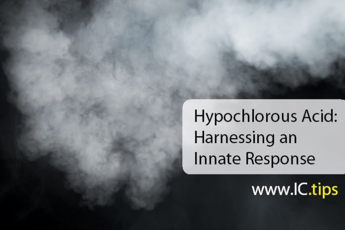 Hypochlorous Acid: Harnessing an Innate Response
