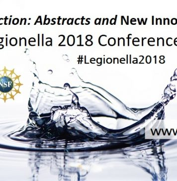 Call to Action: NSF Legionella 2018 Conference