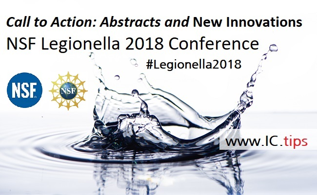 Call to Action: NSF Legionella 2018 Conference - www IC tips