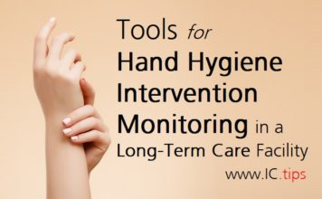 Tools for Hand Hygiene Intervention Monitoring in a Long-Term Care Facility