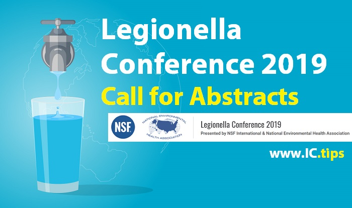 Legionella Conference 2019: Call for Abstracts - InfectionControl tips